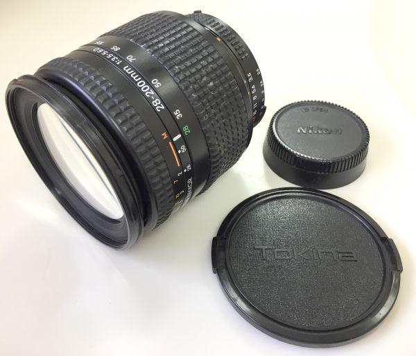 1円~Nikon AF NIKKOR 28-200mm 1:3.5-5.6 D 中古動作品