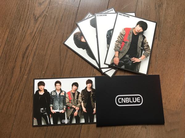 ★☆CNBLUE ポストカード☆★ ライブグッズの画像