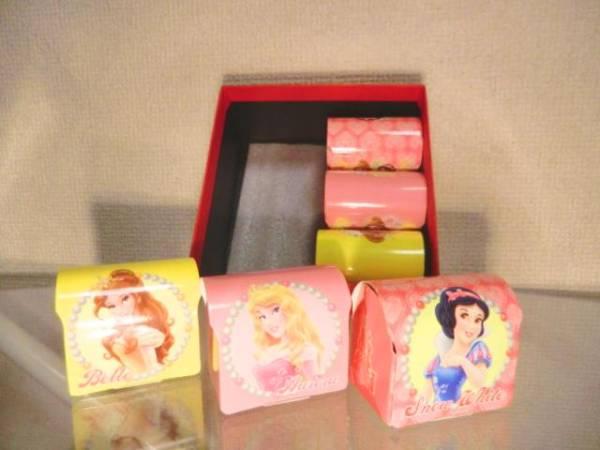 ディズニープリンセス ミニミニ日替わりタオル 6枚セット お返しに 白雪姫・オーロラ姫・ベル姫 ディズニーグッズの画像