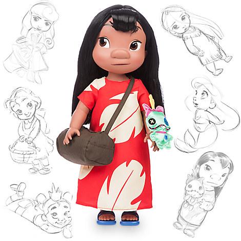 ディズニー アニメーターズコレクション リロ&スティッチ リロ ドール 人形 40センチ  ディズニーグッズの画像