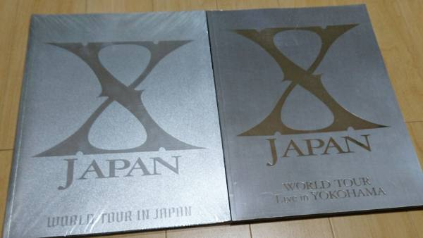 【X JAPAN】美品 ツアーパンフレットセット 2009 東京ドーム 2010 日産ドーム エックスジャパン YOSHIKI hide We are X