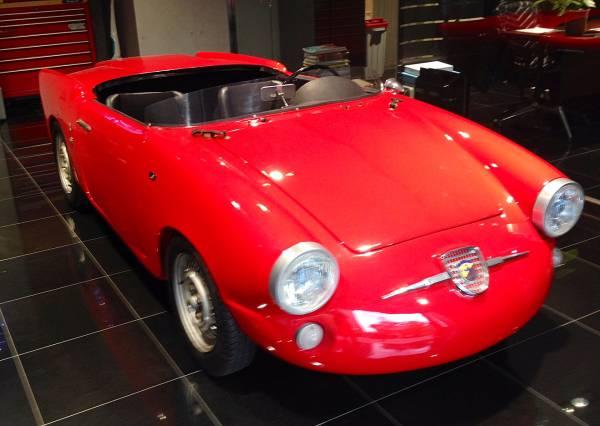 【個人代理出品】アバルト750 アレマーノ・バルケッタ / ABARTH 750 ALLEMANO・BARCHETTA 1958年式 ヴィンテージカー