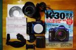 【中古】 PENTAX K-30 レンズセット DA 18-135mmF3.5-5.6ED ほかおまけ多数