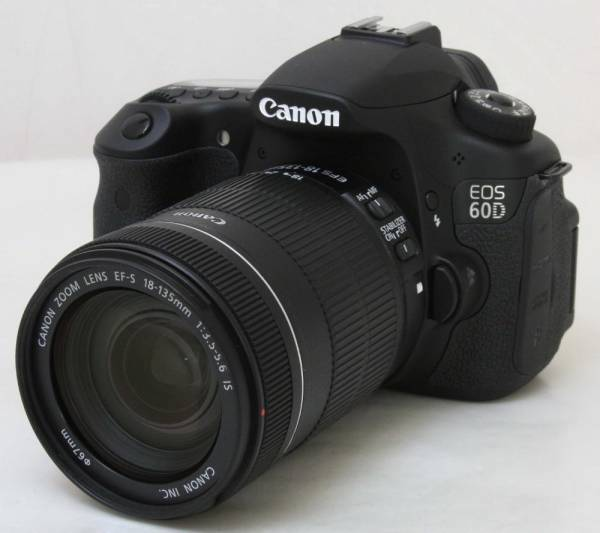 Canon EOS 60D 18-135mm レンズキット ★美品・正常作動保証付(35889)