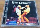 Bad Company Live Albuquerque NM USA 1976 2CD ライブ盤 バッド・カンパニー Paul Rodgers