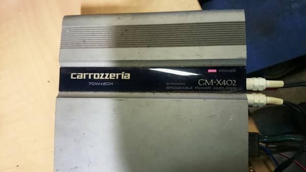 動作確認済 パイオニア カロッツェリア 70W2ch パワーアンプ GX-X402_画像2