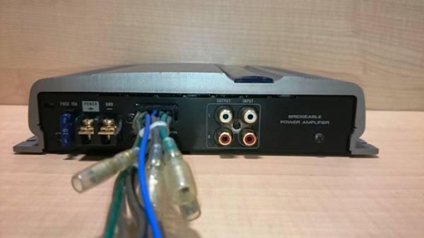 動作確認済 パイオニア カロッツェリア 70W2ch パワーアンプ GX-X402_画像3