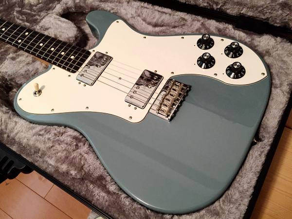 美品! Fender USA American Professional Telecaster Deluxe SonicGray テレキャスター デラックス ソニックグレー