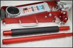 美品 マサダ SJ-15AL 1.5t アルミジャッキ 油圧 軽量 低床型 中古