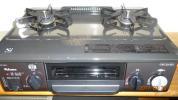 美品パロマ ガステーブル IC-331SB-L LP プロパンガス用 2014年製
