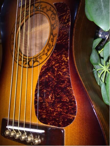☆K.YAIRI Enjoy part1☆ Kヤイリ 単板トップ トラベルギター 1997年製_画像3