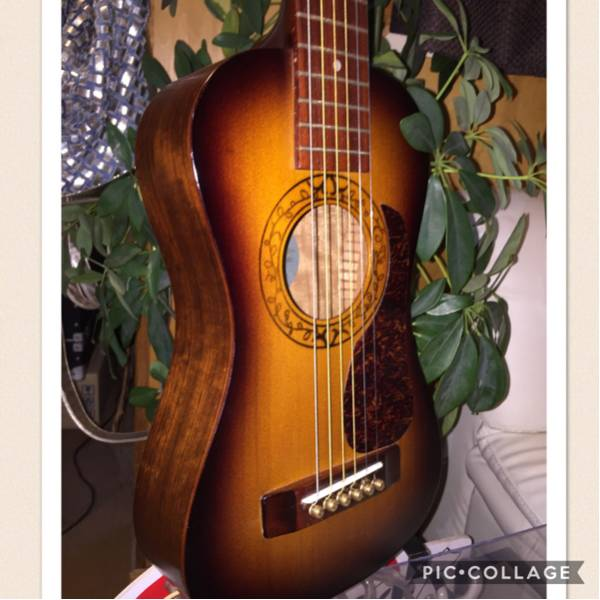 ☆K.YAIRI Enjoy part1☆ Kヤイリ 単板トップ トラベルギター 1997年製