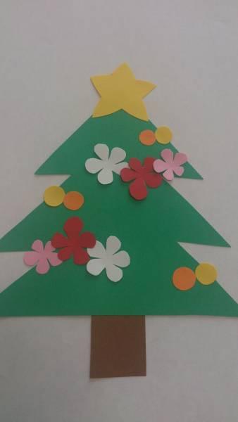 クリスマスツリーA10枚セット☆壁面飾り☆幼稚園などに7
