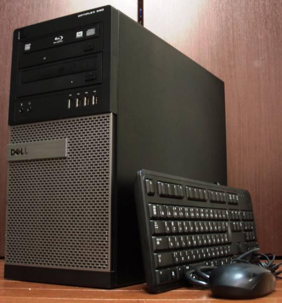 希少激速 Win10 OptiPlex 990MT i7 2600 TB 3.8GHz メモリ16GB 新SSD240GB × 1TB HD6670 BDRE USB3.0