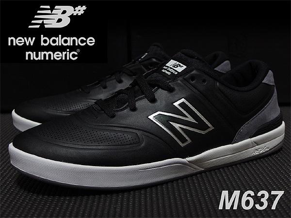 新品 New Balance Numeric M637 11 28cm ニューバランス ヌメリック スニーカー HUF