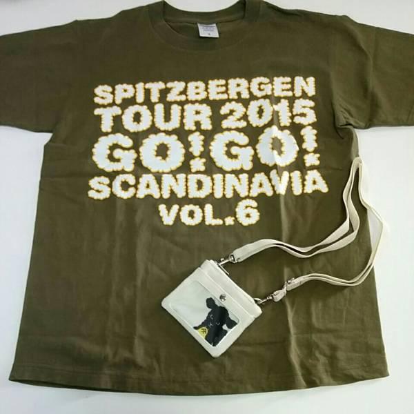 スピッツ tour2015 GO!GO!SCANDINAVIA vl.6 パスケース Tシャツ Sサイズ セット 1213