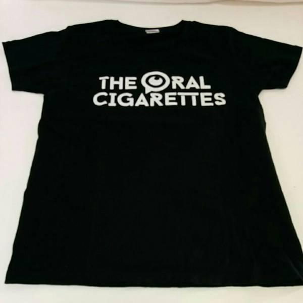THE ORAL CIGARETTES ロゴTシャツ ブラック Mサイズ オーラル 1335