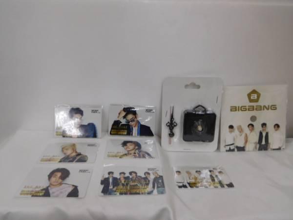 BIGBANG THE BEST OF BIGBANG ミュージックカード 7形態 特典クロック付 未開封品