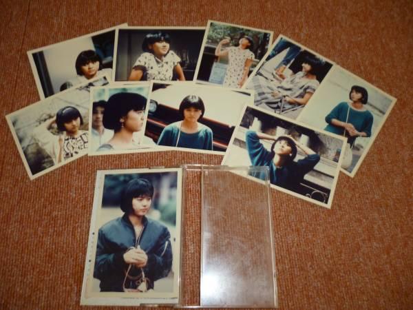 薬師丸ひろ子 プチフォト カセットケース大 写真 コンサートグッズの画像
