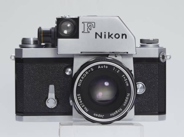 NIKON F フォトミックファインダー 5cmF2 フード付き_画像2
