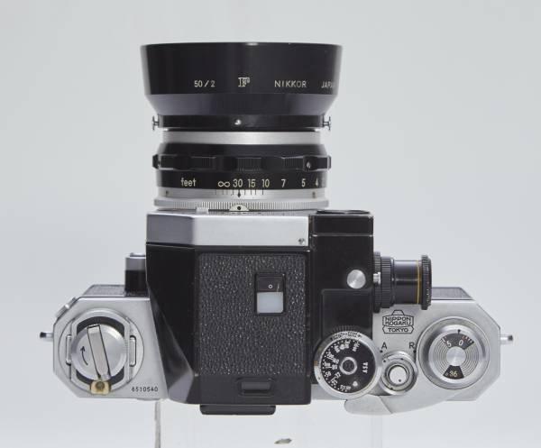NIKON F フォトミックファインダー 5cmF2 フード付き_画像3