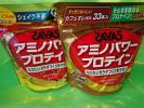 SAVAS★ザバス★アミノパワープロテイン/カフェオレとパインのセット/33本×2袋