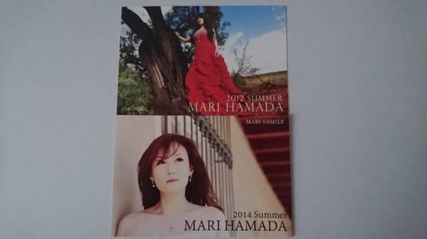 浜田麻里/サマーカード 2点 ライブグッズの画像