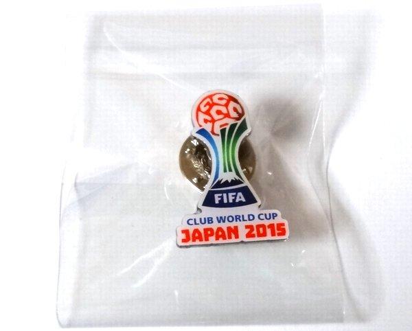 2015 FIFAクラブワールドカップ 非売品 ピンバッジ 新品未開封 ピンバッチ ピンズ FCバルセロナ サンフレッチェ広島