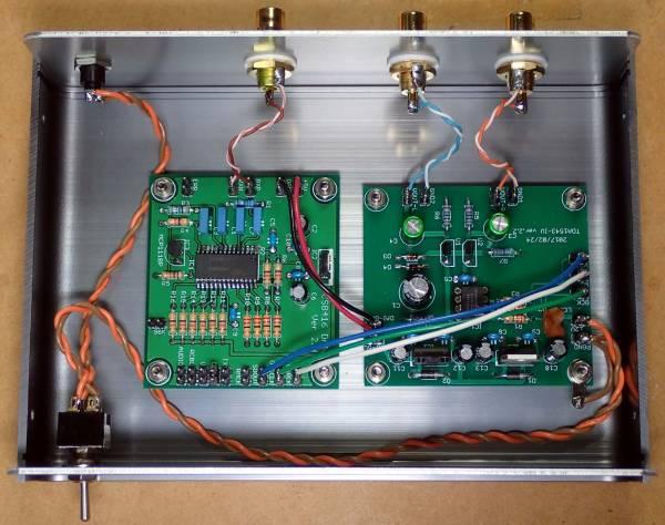 自作DAC TDA1543A(FET)+CS8416