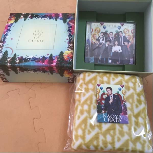 未使用 AAA WAY OF GLORY 初回生産限定 CD DVD ライブグッズの画像