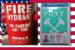 ★36★ 消火栓・消防署セット N.Y.FIRE HYDRANT ステンシルアート(ステンシルシート)