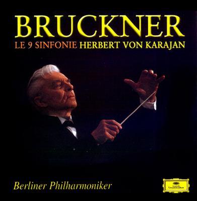 ブルックナー 交響曲 全集 第1 2 3 4 5 6 7 8 9番 カラヤン ベルリン・フィル 9CD 伊 グラモフォン DG Bruckner Karajan Comp Symphony_9CD BOX