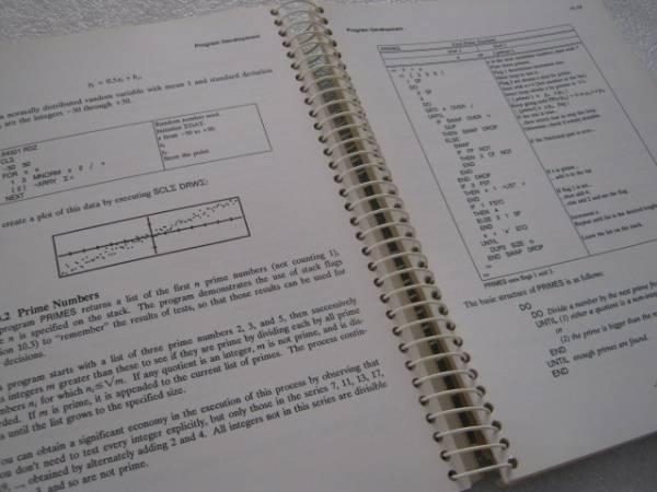 【電卓】 HP28S/C プログラミングの基礎と応用 Larken社刊_画像3