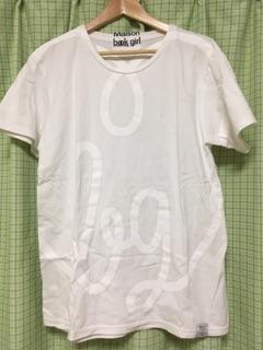 Maison book girl Tshirt white×white_mbg012 Tシャツ