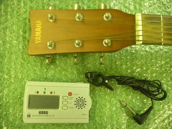 ☆ヤマハ・ミニ・ジュニア・ギター KORGのチューナー付き_画像3