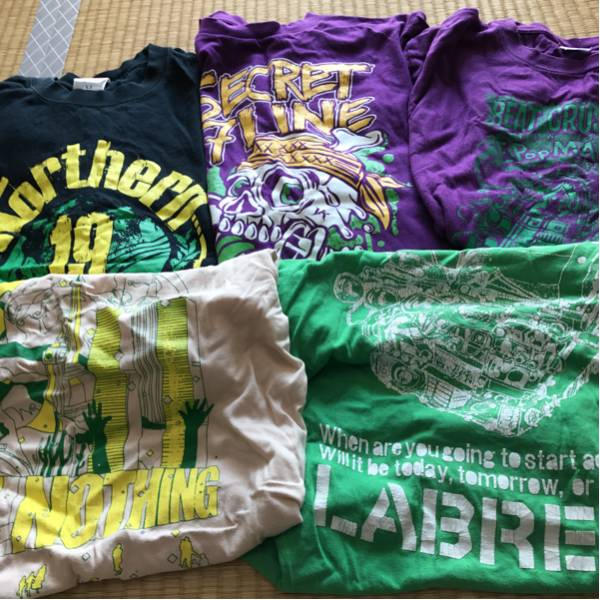 バンドTシャツ11枚セット/検)northern19/good 4 nothing/shachi/last alliance/secret 7 line/labret/the boogie jack/beat crusaders