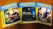 ボーン・アイデンティティー ボーン・スプレマシー ボーン・アルティメイタム ジェイソン・ボーンシリーズ Blu-ray三作セット!