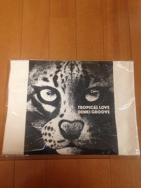 【送料無料】電気グルーヴ 「TROPICAL LOVE」 購入特典 Loppi・HMV限定 トートバッグ
