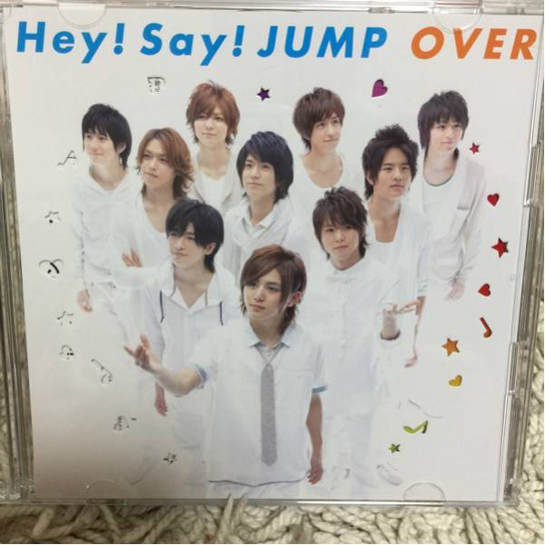 OVER(初回限定盤1) / Hey!Say!JUMP コンサートグッズの画像