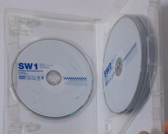 ストライクウィッチーズ DVD-BOX / DVD 6枚組 ♯01~♯12 全話収録★即決_画像3