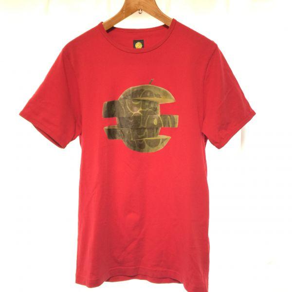 Pretty Green Tシャツ 赤 S ビートルズ アップルレコード社ロゴ Oasis リアム監修 zazous fred perry bensherman