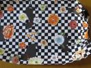 廚房用品 - ハンドメイド 手作り 腕抜き アームカバー 市松 猫 モダン 花模様 可愛い ネコ 黒 格安 兼用 掃除 ガーデニング