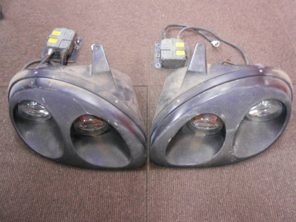 カプチーノ ヘッドライト4灯式 HID エリートSPL EA11R EA21R HID点灯確認