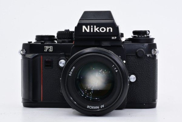 Nikon ニコン F3 HP ハイアイポイント 161万台 + AF NIKKOR 50mm F1.4 大口径 標準 単焦点 送料無料