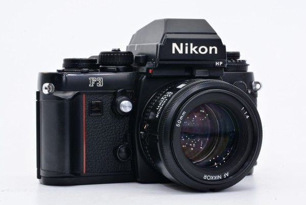 Nikon ニコン F3 HP ハイアイポイント 161万台 + AF NIKKOR 50mm F1.4 大口径 標準 単焦点 送料無料_画像3