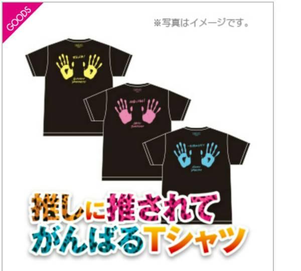 NMB48推しに推されてがんばるTシャツ Team N山本彩 オフィシャル公式商品、予約限定商品 ライブグッズの画像