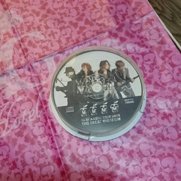 GLAY GreatVACATION2009 CD-R 10枚 ビニールバック