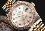 ◆ロレックス パーペチュアルデイトジャスト 1603 ピンクゴールド×SSコンビ OH済 美品希少!! 保証付◆