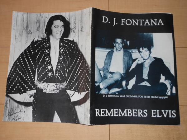 D.J.FONTANA/REMEMBERS ELVIS ◆エルビス写真集/洋書 ELVIS FROM1954-1968