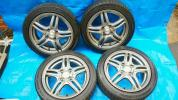 軽サイズ155/55R14タイヤ&ホイール4本セット
